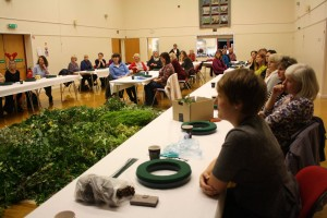 Christmas Wreath-making Event