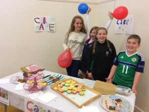 Cake Sale for the Reclaim Shoebox Appeal
